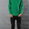 เสื้อยืด สีเขียวใบไม้ คอกลม แขนยาว Size 4XL สำเนา