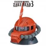 GACHAPON EXCEED MODEL ZAKU HEAD 3 กาชาปองซาคุ 3 สีน้ำตาล