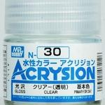 ACRYSION N30 GLOSS CLEAR สีเคลียร์เงา