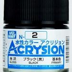 ACRYSION N2 GLOSS BLACK สีดำเงา