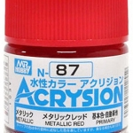 ACRYSION N87 METALLIC RED สีแดงโลหะ
