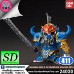 SD BB411 HuangGai Gouf & Six Combining Weapons Set B