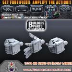 BUILDERS PARTS HD 1/144 MS HAND 04 [E.F.S.F] LARGE SIZE มือแบบ HD สำหรับกันพลาขนาด 1:144 ขนาดใหญ่