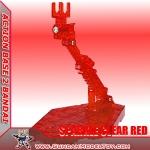 ACTION BASE 2 SPARKLE CLEAR RED ตัวเล็ก แดงใสมีกลิทเตอร์
