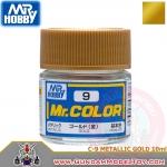 MR.COLOR C-9 METALLIC GOLD สีทองโลหะ