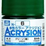 ACRYSION N6 GLOSS GREEN สีเขียวเงา