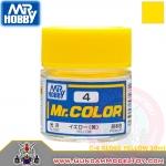 MR.COLOR C-4 GLOSS YELLOW สีเหลืองเงา
