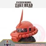 GACHAPON EXCEED MODEL MS-06S ZAKU HEAD กาชาปองซาคุ สีแดง
