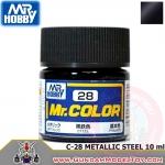 MR.COLOR C-28 METALLIC STEEL สีเหล็กโลหะ