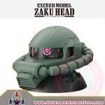 GACHAPON EXCEED MODEL MS-06F ZAKU HEAD กาชาปองซาคุ สีเขียว