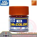 MR.COLOR C-10 METALLIC COPPER สีทองแดงโลหะ