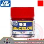 MR.COLOR C-3 GLOSS RED สีแดงเงา