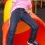 เสื้อยืดเด็ก สีชมพูอ่อน คอกลม แขนสั้น Size L สำเนา thumbnail 2