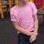 เสื้อยืดเด็ก สีชมพูอ่อน คอกลม แขนสั้น Size L สำเนา thumbnail 4