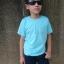 เสื้อยืดเด็ก สีฟ้าอ่อน คอกลม แขนสั้น Size XL thumbnail 2