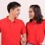 เสื้อโปโล สีแดง TK Premium แขนสั้น ทรงตรง Size 3XL thumbnail 1